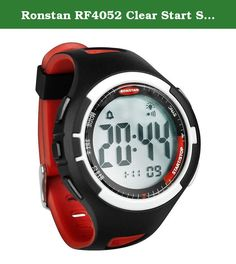 "Ronstan RF4052 Clear Start Sailing Watch - 50 Mm., Black & Red. Clear Start™ Sailing Watch - 50mm(2"") - Black/Red Innovative Race Functions with Bold Styling The most popular sailing watch in the world just got better. Ronstan's Clear Start™ race timer and watches are completely updated with bold styling and true sailing functionality. Besides the fresh look they feature large buttons, easy to read displays and advanced intuitive programming designed specifically with the racing sailor in..."