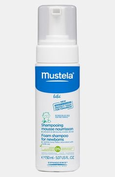 Mustela® Foam Shampoo for Newborns available at #Nordstrom