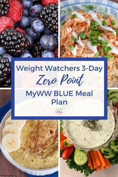Instant Pot Free Freezer Meal Plan Use this 3 day Weight Watchers zero point meal plan to eat low points and lose weight. Weight Watchers Snacks, Points Weight Watchers, Weight Watchers Meal Plans, Weight Loss Meal Plan, Weight Watchers Freezer Meals, Weight Watchers Program, Healthy Food To Lose Weight, Healthy Foods To Eat, Loosing Weight