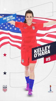 Kelley OHara United States Womens National Team Poster