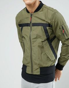 Discover Fashion Online Latest Fashion Clothes, Fashion Online, Tactical Wear, Man Weave, Types Of Jackets, Work Wear, Menswear, Leather Jacket, Sweatshirts