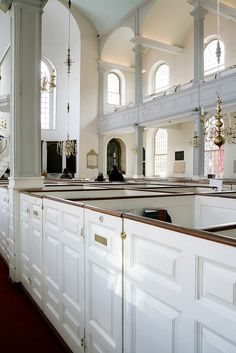 Box Pews by Architectural Historian, via Flickr