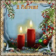 Winter Christmas, Merry Christmas, 2 Advent, Nouvel An, Culinary Arts, Pin Collection, Pillar Candles, Birthday Candles, Happy Birthday