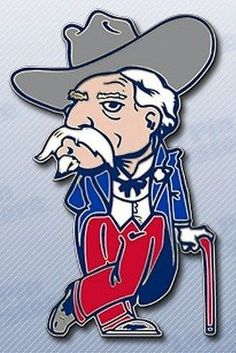 d804c3009d3 Colonel Reb Lapel Pin. Ole Miss Football
