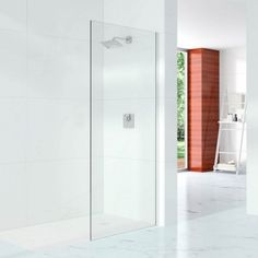 Merveilleux Merlyn 10 Series Wet Room Glass Panel With Wall Profile 500mm Wide   10mm  Glass.