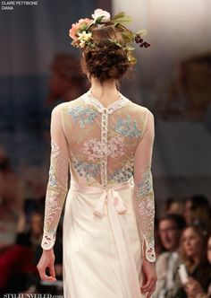 Style Unveiled - Style Unveiled | A Wedding Blog - Diana by Claire Pettibone from the An Earthly Paradise Collection