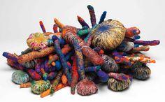 Art Textile, Textile Artists, Textile Design, Textiles, Modern Art, Contemporary Art, Sheila Hicks, Centre Pompidou, Josef Albers