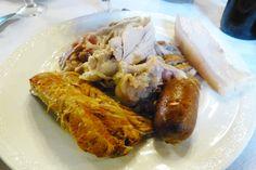 plato de carne en el cocido maragato