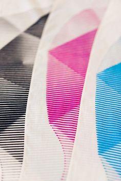 folded paper furoshiki closeup