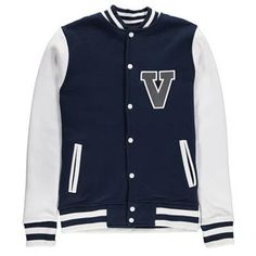 Mens Varsity Contrast Panel Baseball Jacket Description: Voi introduce the latest collection of casual staples, including the Varsity contrast panel baseball jacket in classic navy blue. Featuring an embroidered logo, two slip pockets and contrasting panels.  • Signature branding details • Press stud fastenings • Contrast... http://qualityclothing.me.uk/mens-varsity-contrast-panel-baseball-jacket/