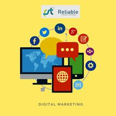 Digital marketing is a kind of marketing where we advertise and promote the business, product, and services on internet-based digital platforms. For best digital marketing service in India, Visit Reliable Software Technology. S Mo, Digital Marketing Services, Platforms, Software, Advertising, Internet, India, Technology, Business