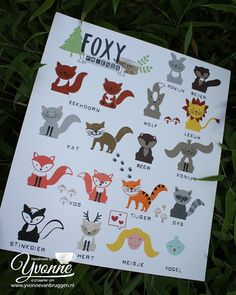 Stampin' Up! Foxy Friends Creations......Yvonne is Stampin' & Scrapping.....: Veel 'friends' voor Foxy