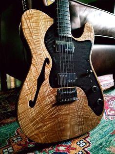 Taurr boutique custom guitar 72 thinline telecaster #customguitars