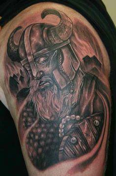 Love this Viking tattoo