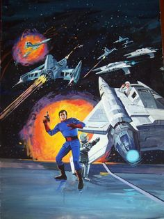 Buck Rogers in the Century: The Western Publishing Years, Volume 1 Arte Sci Fi, Sci Fi Art, Buck Rodgers, Kung Fury, Space Hero, The Lone Ranger, Sci Fi Movies, Movie Tv, Science Fiction Art