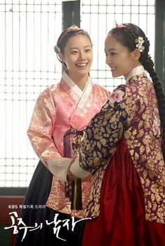 KOREAN HANBOK - a princess and the future wife of the crown prince