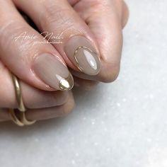 Nail Ring, Nail Manicure, Nail Polish, Korean Nail Art, Korean Nails, Swag Nails, My Nails, Business Nails, Japan Nail