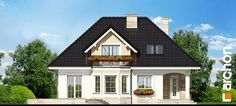 Projekt domu Dom w awokado - ARCHON+ Architectural House Plans, Design Case, Home Fashion, Future House, Floor Plans, Cabin, Flooring, How To Plan, Mansions