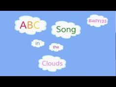 ABC Song in the Clouds (ZED version)  Upper and lower case letters