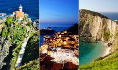 Una+ruta+en+coche+inolvidable+por+los+acantilados+asturianos Paraiso Natural, Cabo, Sea, Nature, Travel, Sailor Room, Vernacular Architecture, Naturaleza, Viajes