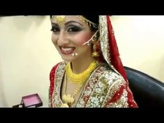 Asian Bridal Makeup and Hairstyle Tutorial   Beauty And Style