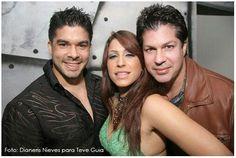 Jerry Rivera junto a sus talentosos hermanos Saned y Edwin