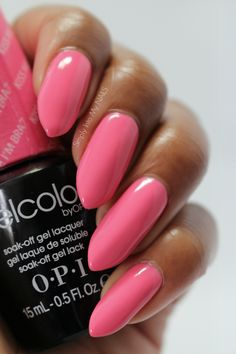 OPI Gelcolor Kiss Me I'm Brazilian | Simply Into My NAILS