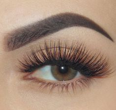 Perfectly shaped eye brows! and the lashes are just soo gorgeous!