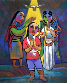 "He Qi: ""The Baptism of Jesus"""