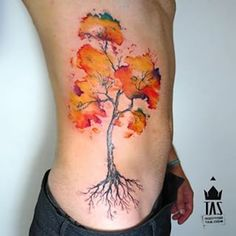 tree by Rodrigo Tas | tattoo artist – Sao Paulo, Brazil