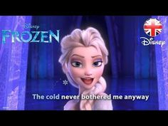 "Are your kids singing the lyrics to ""Let it Go"" over and over and you can't get it out of your head? We're having a special screening of ""Frozen"" tomorrow, Friday, March 28 at pm. FROZEN - Let It Go Sing-along Gif Disney, Disney Songs, Disney Frozen, Disney Movies, Walt Disney, Disney Music, Frozen Sing, Frozen Let It Go, Film Frozen"