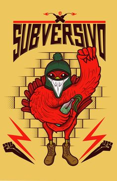 subversivo  by scifuentes ., via Behance