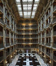 Goerge Peabody, Universidad Jhon Hopkins, Baltimor. On air by Vicky Chávarri » Bibliotecas