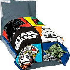 Classic Star Wars Boys and Toddlers Ultra Soft Plush Bedding Blanket @ niftywarehouse.com #NiftyWarehouse #Geek #Products #StarWars #Movies #Film