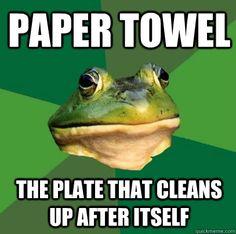 #Foul Bachelor Frog