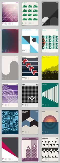 The London based graphic designer Duane Dalton has started this project as an exploration of reduction. He created numerous highly graphical Design Typography, Graphic Design Posters, Graphic Design Illustration, Graphic Design Inspiration, Gfx Design, Layout Design, Design Art, Print Design, Design Graphique