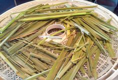Lemon grass cannot be grown from seed, only by living shoots.... we dehydrate it for tea... so refreshing