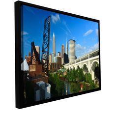 'Cleveland 11' by Cody York Framed Photographic Print on Wrapped Canvas
