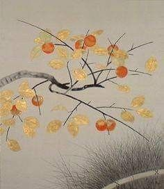 by Kokei Kobayashi Inspiration Artistique, Sumi Ink, Yayoi Kusama, Japanese Painting, Art For Art Sake, Contemporary Landscape, Japanese Artists, Ink Color, Art Google