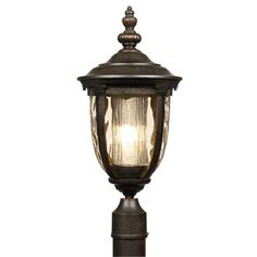 "Bellagio 21"" High Energy Efficient Outdoor Post Light"