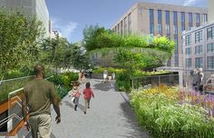 Rounded Forest Design Plans Revealed for NYC's the High Line - My Modern Metropolis