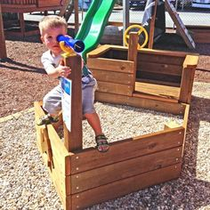 Timber Pirate Ship | Aarons Awesome Playgrounds