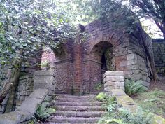 Enjoyable visit to the abandoned Lever Park, Rivington. Breif history: 'Lever Park on the east bank of the Lower Rivington reservoir is named after. Derelict Places, Abandoned Places, Interesting Sites, Family Roots, Amazing Buildings, Haunted Houses, Stairway To Heaven, England Uk, Abandoned Buildings