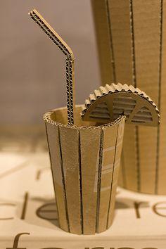 Cardboard sculpture | Flickr - Photo Sharing!