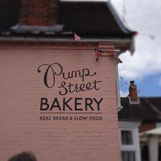 Gorgeous bakery logo & lovely font » @fionahumberston » Instagram Profile » Followgram