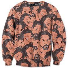 Morgan Freeman Narrated Sweatshirt // Beloved Shirts