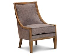 Accent Chairs-Everly Accent Chair-Elegant club chair style