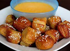 Soft Pretzel Bites w/ Cheese Dipping Sauce... Happy Hour Appetizers 32 | Hampton Roads Happy Hour - 10.4, i.12.5