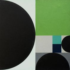 Sybil Wilson, Black Circle, 1962. via  mid-centuria.
