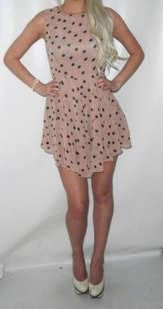 50's polka dot dress!! I want I want I want
